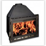 Fireplaces uncoated with boiler