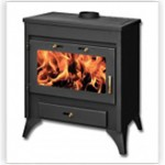 Wood stoves with boiler